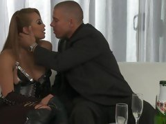 Rampant Mia Lelani makes out with this fit hunk