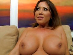 Kianna Dior's monsters are showered with spunk