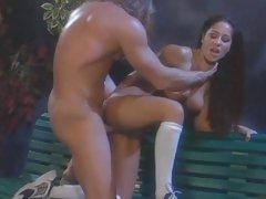 Succulent Jenaveve Jolie gets her moist pussy slammed
