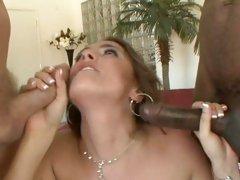 Blistering Tori Black slurps on these skin flutes