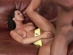 Randy bitch Sandra Romain gets her moist pussy slammed