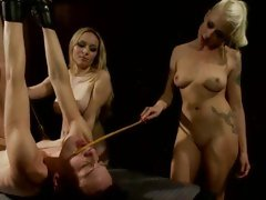Naughty Aiden Starr & Lorelei Lee whip this tart