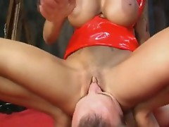 Busty Angelina Valentine couldn't stop moaning as she gets real Pleasured