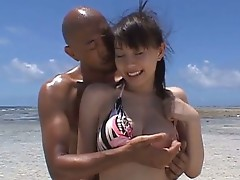 Busty japanese babe Ai Takeuchi has hot sex
