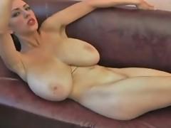 Gigantic couple of boobs