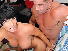 Shay Fox acquires screwed and takes a facial