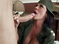 Cock Starved Savannah Stern Enjoys her lover's shaft sliDing in her hawt Mouth