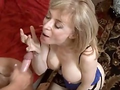 Delicious momma Nina Hartley always Wanted to get herself gooed after fucking