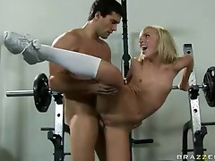 Lovely Blonde Ally Kay Enjoys the simmEring dick Juice trickling in her Mouth