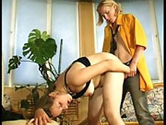 Julia and Ira Nasty anal lesbo