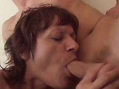 This sexy Lady gets this chabr hirsute pussy filled