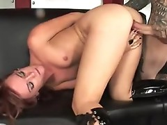 Burning hot Dani Jensen acquires screwed so good in her tight twat until she cums