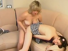 Virginia and Juliet lezzy Mom on movie