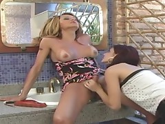Barbie dicky tranny in actionion