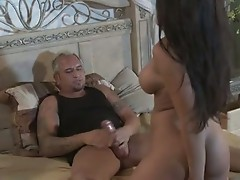 Jenaveve Jolie is scorching in bed Teasing her lover for one amazing actionion