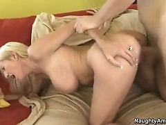 Lewd Emma Starr gets real rammed by a young man's ramrod loving it from behind