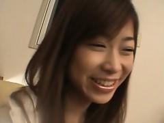 Ami Hinata is a sweet Asian schoolgirl