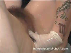 Homegrownhairybush's Mariah Gets Checked