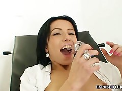 Latina nurse babe wants to pussy pumping action