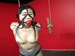Asian girl submits herself to utter punishment for your pleasure