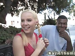 Sweet young candi summers fucked by a big black cick