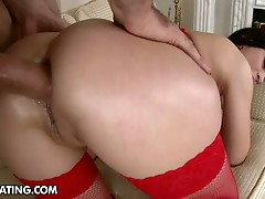 Red-hot whore gets banged