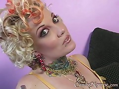 Candy Monroe Cuckolds While Sucking Black Cock