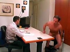 Horny gay hunk fucking his hot boss