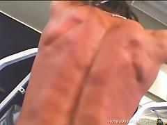 Rhonda lee gives a diva blowjob and harcore sex