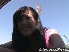 Shy brunette teen chelsie rae interracial pounding fun