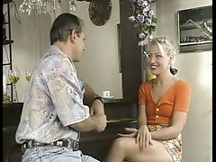 Beautiful milf blonde loves the cock