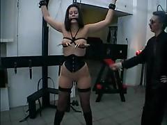 Two painful BDSM scenes for a slut