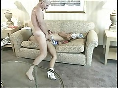 Anal fuck and a toy with the slut