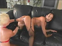 Energetic and arousing anal threesome