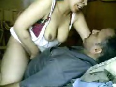 He fucks his chubby Arab wife hard