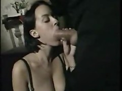 Priest takes dirty confession from Italian slut