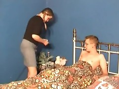 Teen and her man do DP with cock and dildo