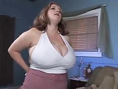 Big fat all natural slut fucked by big cock