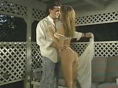 Perky tit fuck in classic porn scene