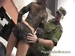 Sergent Fucks Cadette