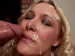 Huge Cumshot Compilation On Pretty Faces