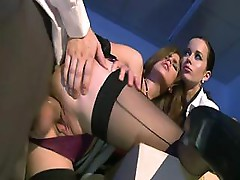 Ian Scott and Cindy Dollar plus a friend do some hot fucking