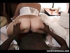 Amazon Wife Interracial Gangbang Video