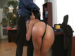 Jade Laroche does her duty by sucking and fucking a hard dick