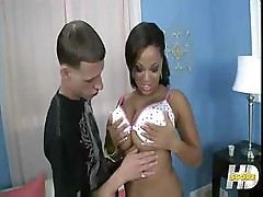 Natasha Dulce get the cock nice and hard before fucking it