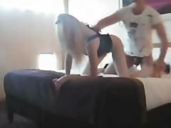 Very Hot Blonde Fucked On Webcam