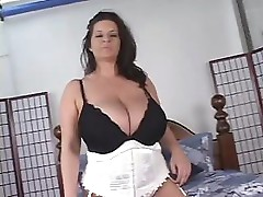 Maria Moore has some huge tits and likes sucking a hard cock