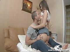 Young Girl Victoria Reaches An Orgasm