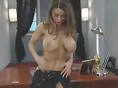 Busty Veronika is putting on a stripping show before having sex