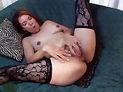 Horny wife gets that dick hard and then spreads her legs for it